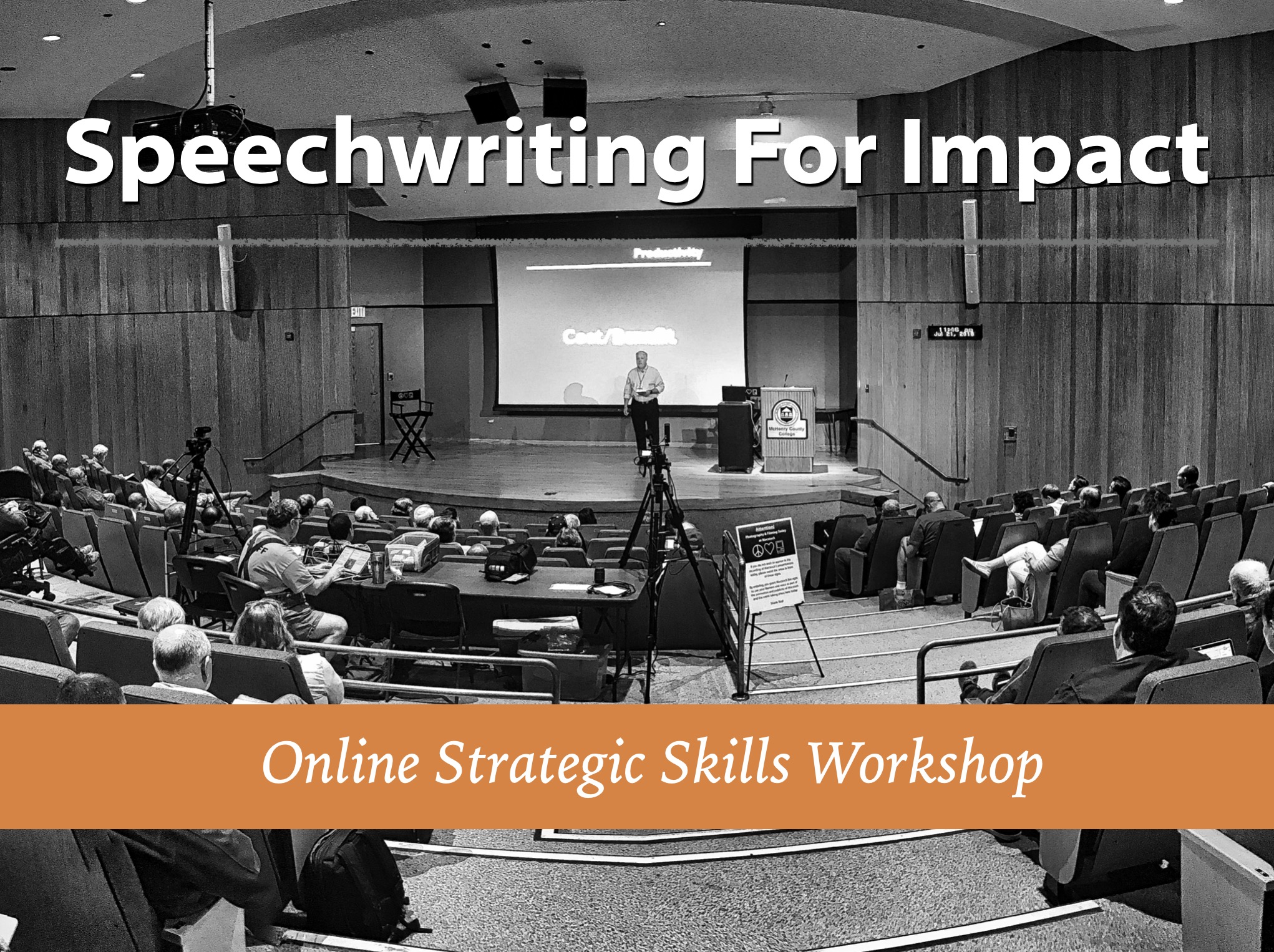 Speechwriting For Impact: Strategic Skills Online Course
