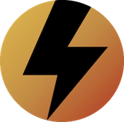 Lightning bolt graphic